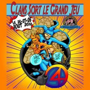 Clans sort le grand jeu 2016
