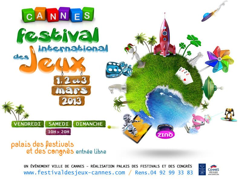 Festival International des Jeux de Cannes 2013