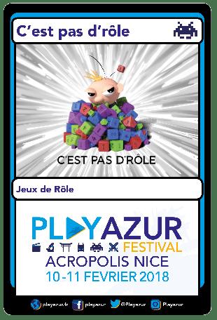 CPDR au Play Azur Festival 2018